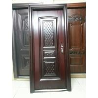 新工艺红木拉丝防晒钢质室内门钢质钢套门FD-1082
