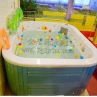 0-2岁婴幼儿游泳池亚克力冲浪泳池