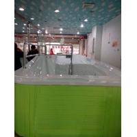 豪华滑梯戏水儿童游泳池