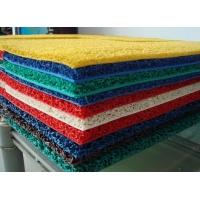 PVC喷丝防滑门垫印字地垫商用办公室地毯