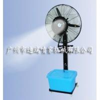 广州工业户外车间大范围降温加湿喷雾风扇