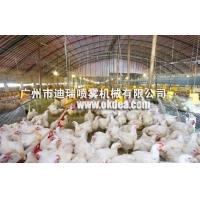 夏季工业车间牧养殖场降温加湿雾化系统