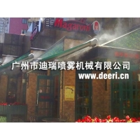 酒店餐厅咖啡厅喷雾降温雾化加湿人工造雾系统