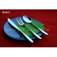 不锈钢西餐餐具套装 西餐刀叉两件套