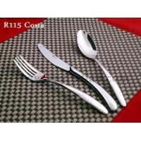 不锈钢 牛排刀叉勺 三件套 高档西餐餐具