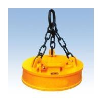 吊运废钢铁用MW5-210L圆形起重电磁吸盘