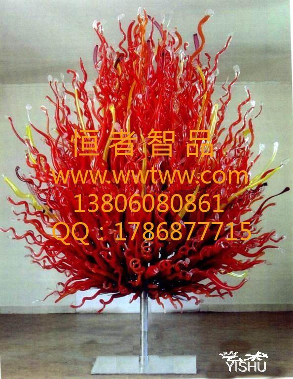 艺术玻璃树