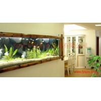 新兴行业河南郑州生态鱼缸 生态壁挂 生态壁画