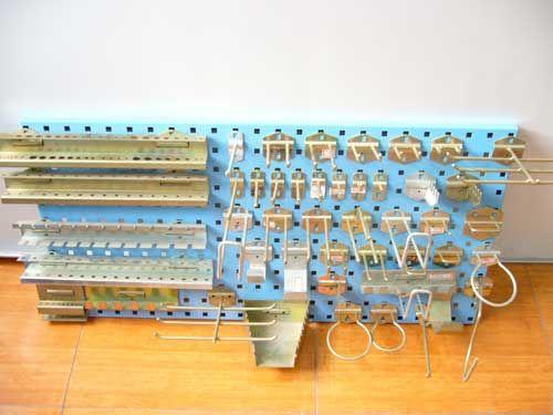方孔挂钩,磁性材料卡,物料整理架挂钩-13770316912