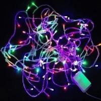 LED树枝户外防水亮化彩灯10m星星灯串