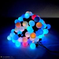 LED户外亮化工程节日球泡灯串装饰灯