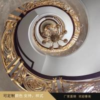 铜艺护栏|铜艺楼梯|铜艺雕花护栏|铜艺雕花护栏楼梯定制