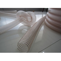 大口径聚氨酯钢丝伸缩软管