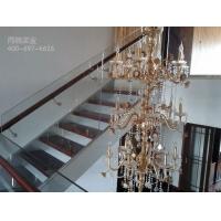双梁钢木楼梯|钢木楼梯效果图|钢木楼梯定制厂家