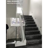 楼梯玻璃栏杆 钢化玻璃扶手定制 工厂直销