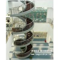 同瑞供应大型钢结构旋转楼梯制作安装