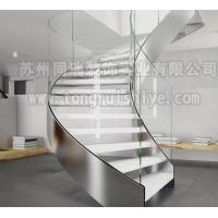 同瑞供应钢架镂空踏步玻璃楼梯 工厂直销