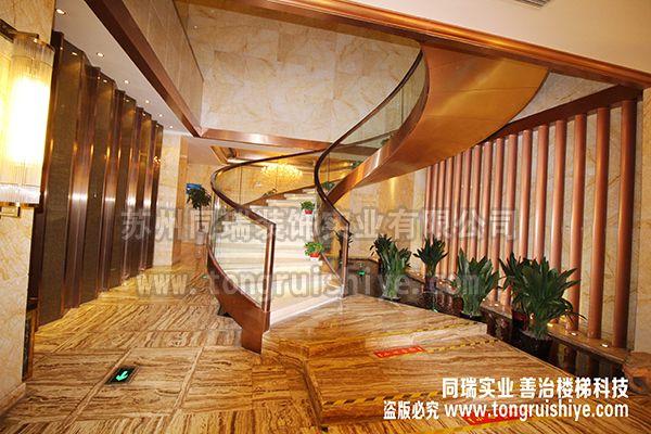 同瑞供应酒店楼梯|会所楼梯|ktv楼梯订制 工厂直销