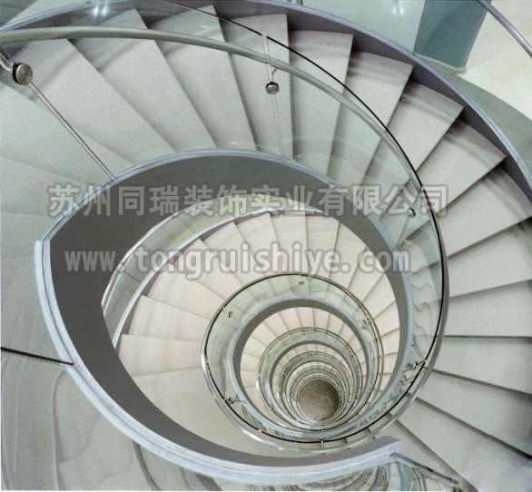 同瑞供应螺旋楼梯 玻璃楼梯 工厂订制