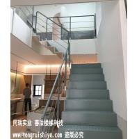简约工业风室内钢楼梯 -厂家可根据要求设计定制
