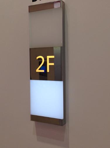 三菱电梯到站灯预报灯