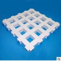 广州三角形铝格栅 铝格栅天花规格