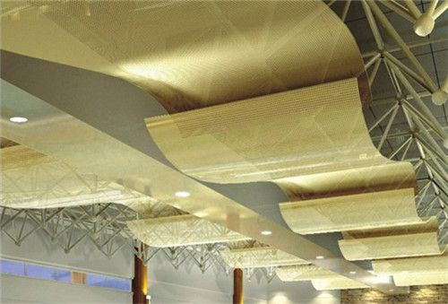 造型铝单板 异形铝天花吊顶