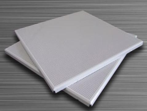600*600铝合金微孔吊顶板 微孔吸音铝扣板天花