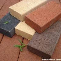 烧结砖的耐磨度、吸水率、耐腐蚀性