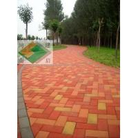建菱广场砖 烧结砖 人行道砖 耐磨砖光面砖 带槽砖 路面砖