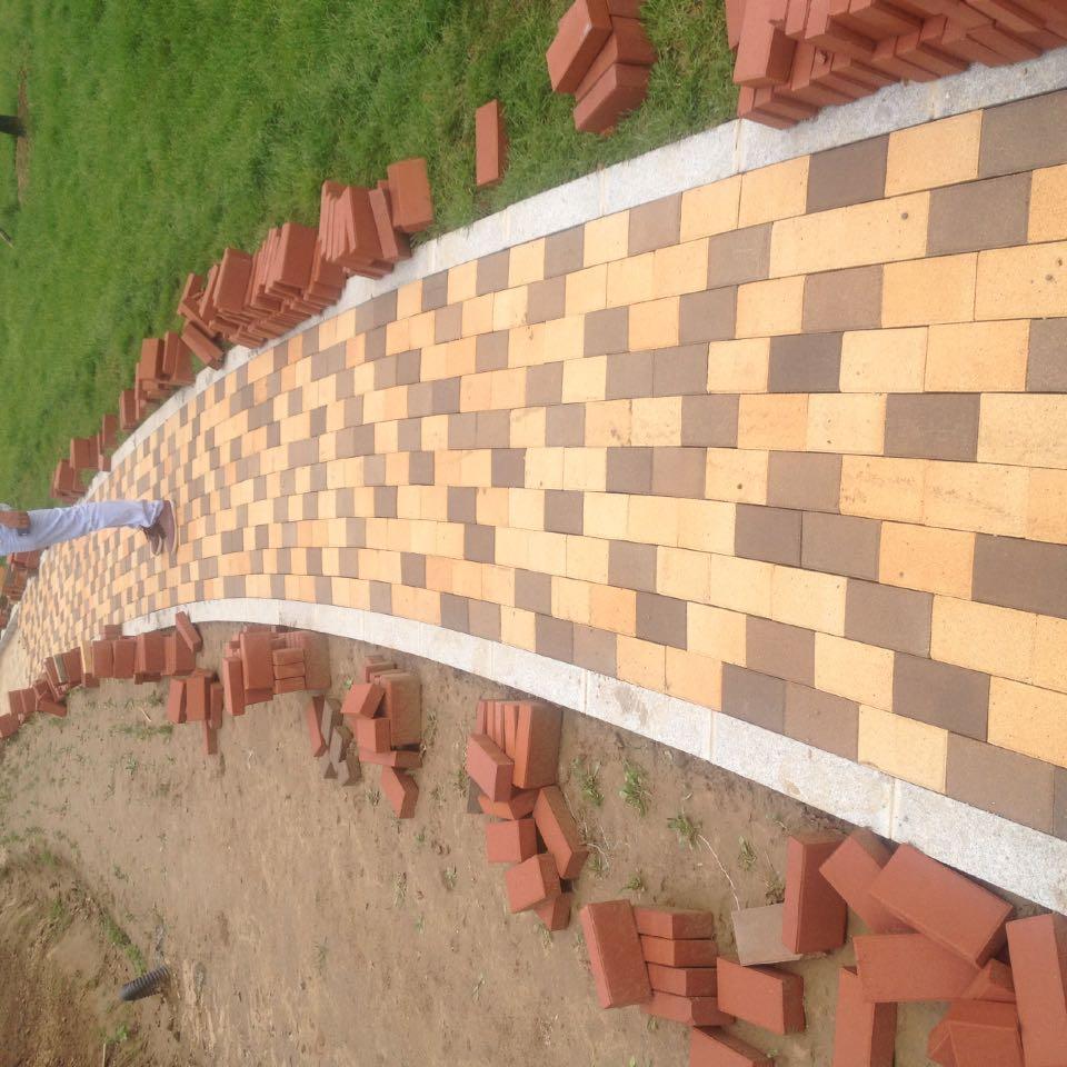 各种规格园林绿化专用烧结砖