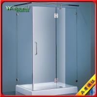 佛山威洁士淋浴房菱形钢化玻璃淋浴房7802