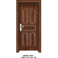 电解板门-智丽钢质室内门-深拉五福-菠萝格-佛山钢套门