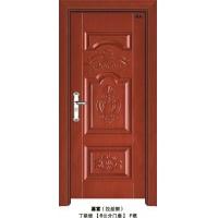 佛山南海智丽钢质室内门-型号嘉富 颜色拉丝铜 板材电解板