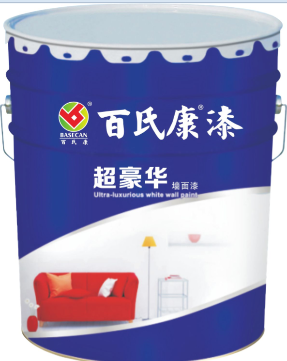 百氏康超豪华超白健康墙面漆