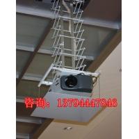 晶固竹节式投影机仪器天花伸缩电动吊架可行程