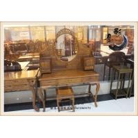 进口缅甸花梨 古典洋花梳妆台 实木仿古家具