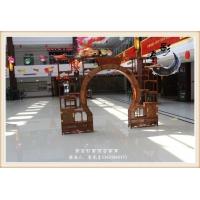 緬甸花梨木古典家具 拱門博古架 廠家熱銷
