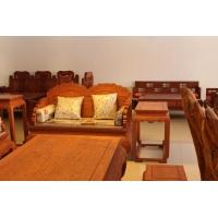 新会古典红木沙发