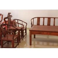 缅甸花梨沙发 圈椅沙发组合 厂家批发 特价优惠