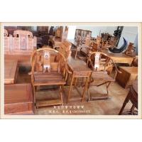 中国花梨木家具 仿古家具 古典中式交椅 组合三件套