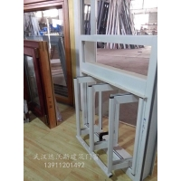 断桥铝窗纱一体 铝包木封阳台厂家 湖北包安装