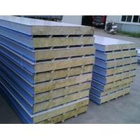 上海岩棉夹芯板 彩钢夹芯板 防火岩棉板 厂家直销