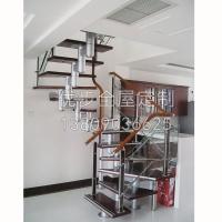 南京玻璃艺楼梯-优步全屋定制