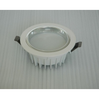 压铸筒灯外壳 5寸筒灯配件 18W压铸鱼尾筒灯