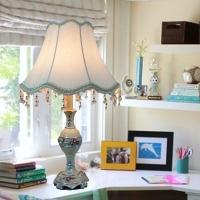 欧式 书房学习台灯 儿童书桌台灯 卧室床头台灯 创意精品装饰