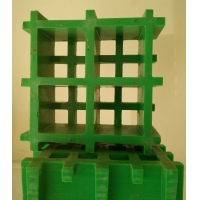污水池格栅盖板/爬梯玻璃钢格栅