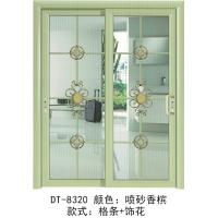 铝合金吊趟门、推拉门,厨房隔断,阳台隔断,客厅等