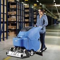 停车场用手推式洗扫一体机R65RBT 全自动地面清洁机