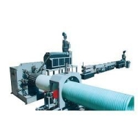 HDPE大口径中空壁缠绕管生产线设备机器挤出机组塑料机械